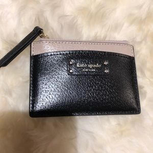 *NEW* Kate Spade leather zipped cardholder
